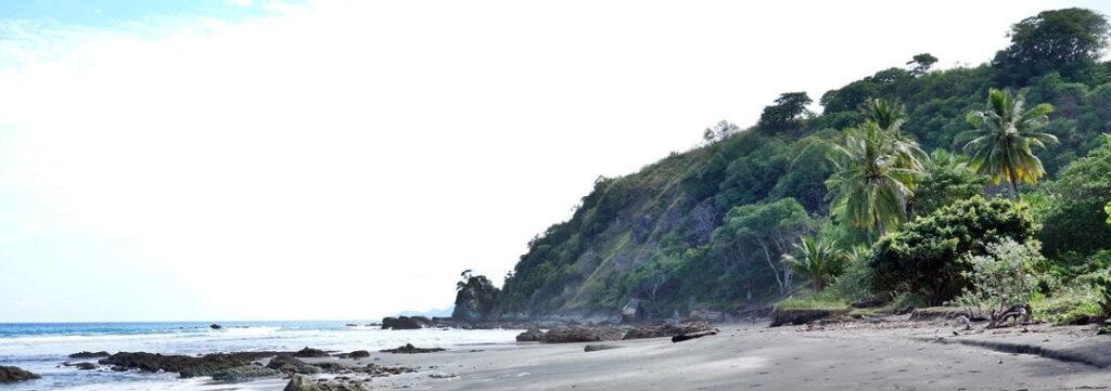 Black-sanded beach, FLores