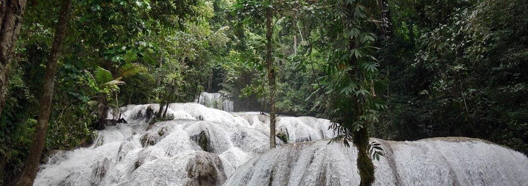 Falls, Tentena, Sulawesi, Indonesia