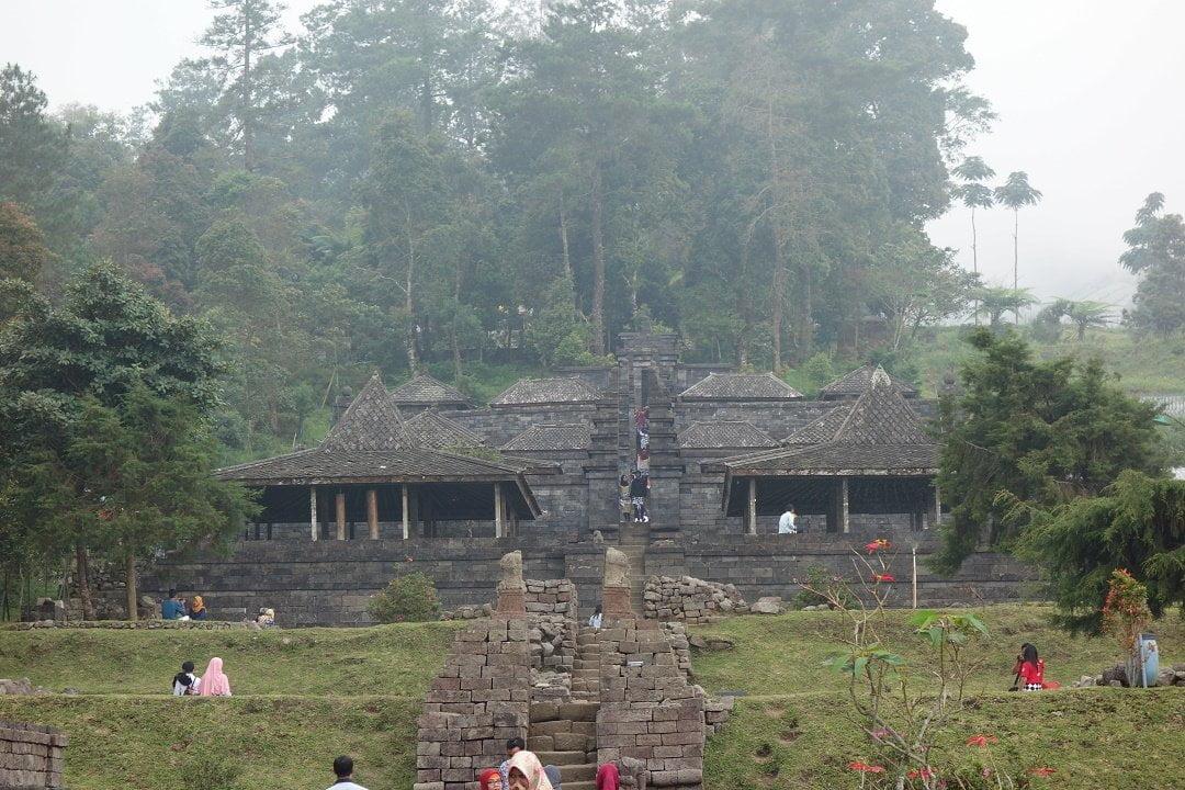 Candi Cetho, Gunung Lawu, Java, Indonesia