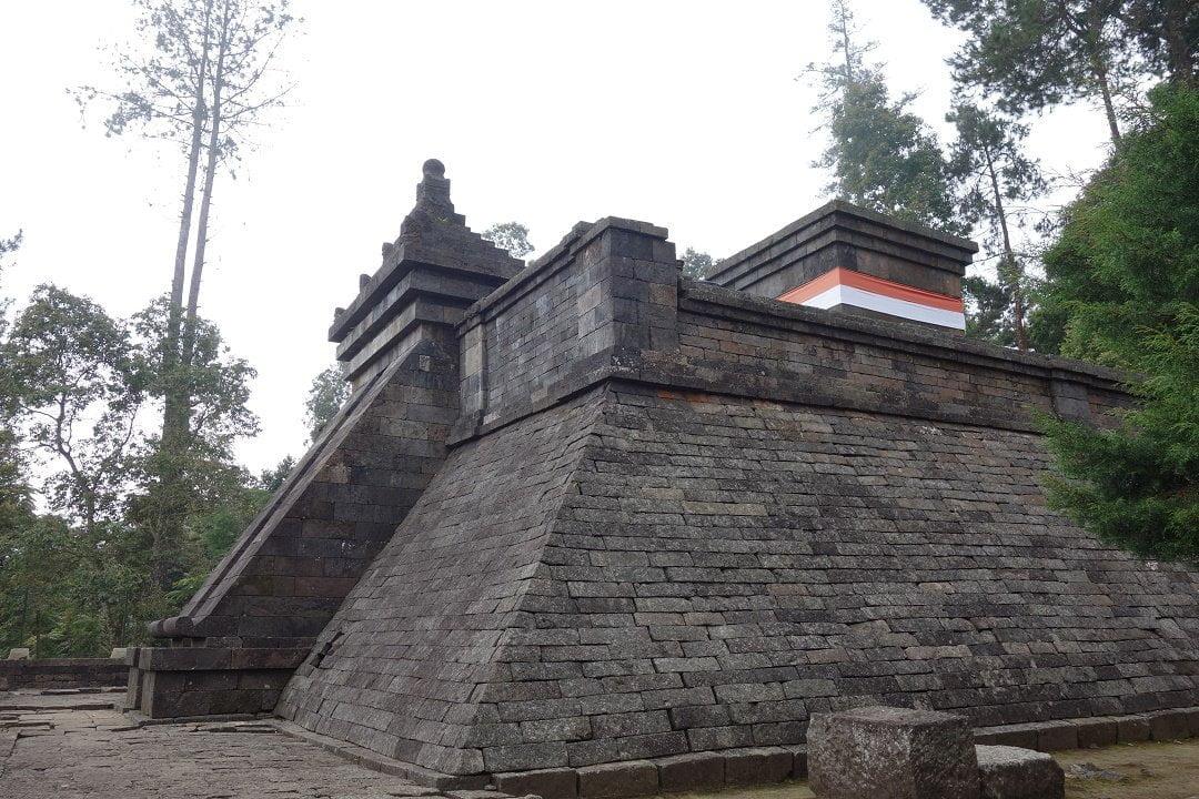 Upper part Candi Cetho, Gunung Lawu, Java, Indonesia