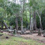 The ruins, Kaludiya Pokuna, Sri Lanka