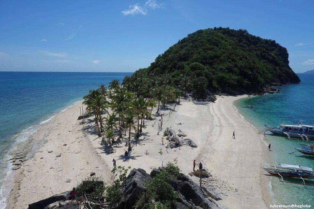 Bantigue sand bar, Isla Gigantes, Iloilo, Philipinnes