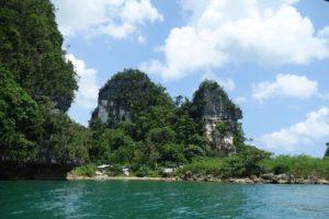 Marabut rock formation, Philippines
