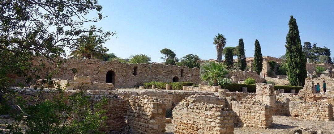 Roman villas, Carthage, Tunisia