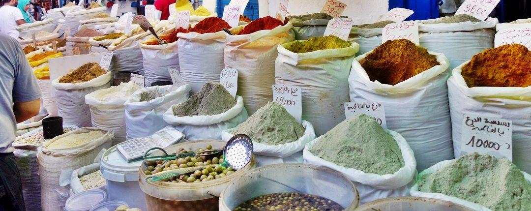 Spices, Medina, Monastir, Tunisia