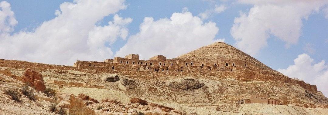 Troglodyte villages, Tunisia