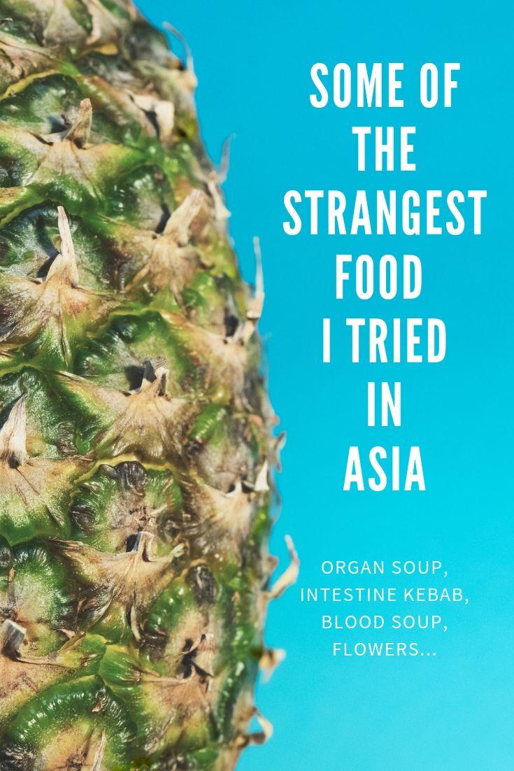 Strange Asian food