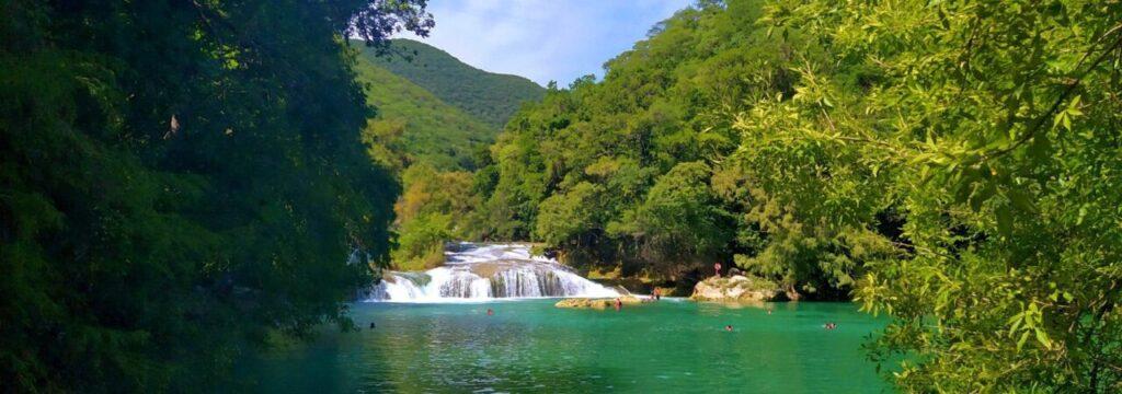 San Luis Potosi Waterfall