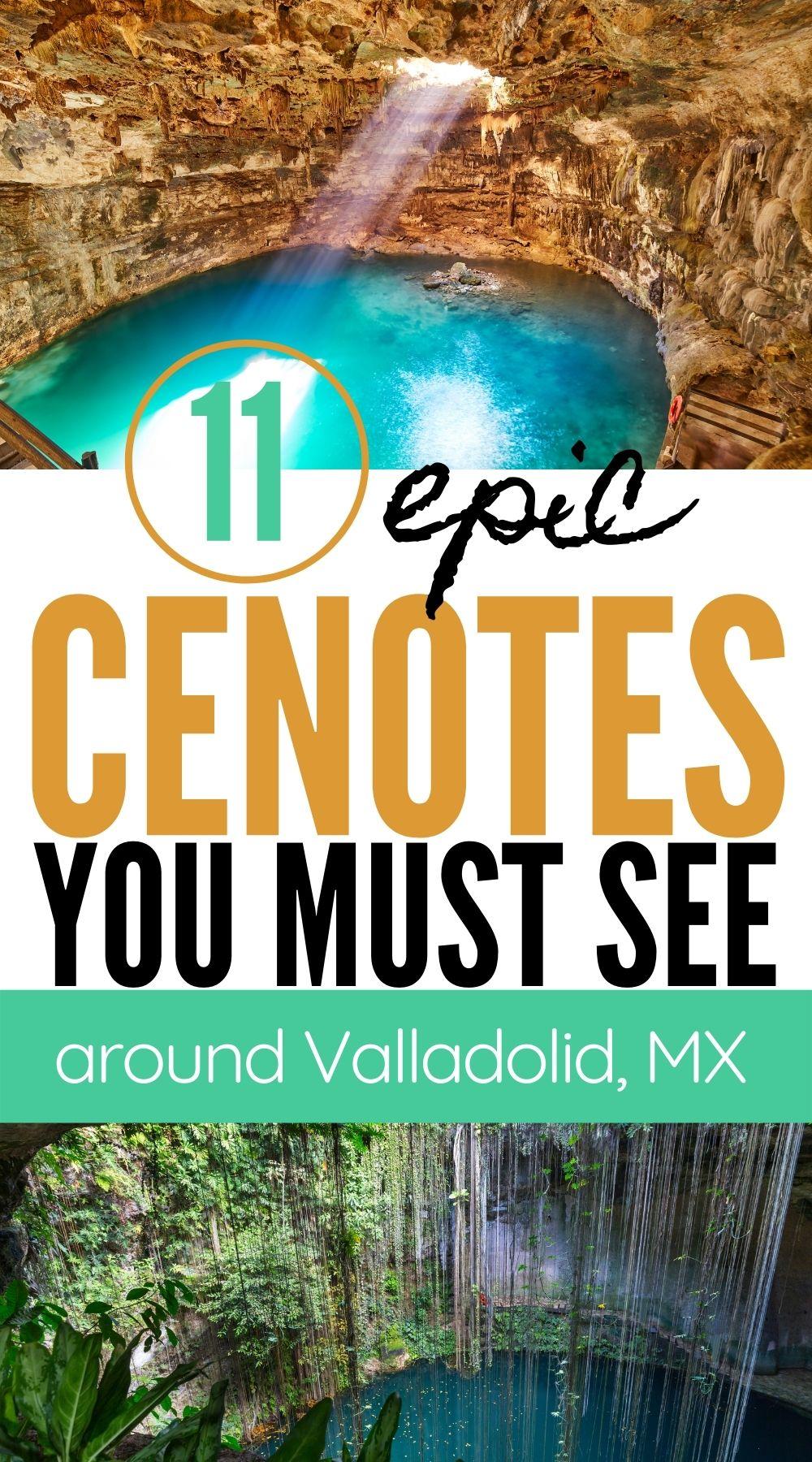 Cenotes in Valladolid, Mexico