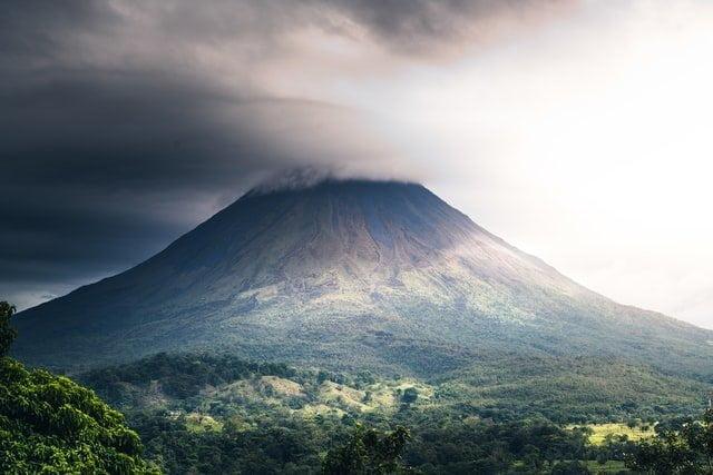Volcano in Costa Rica - Best Spring break destinations for families