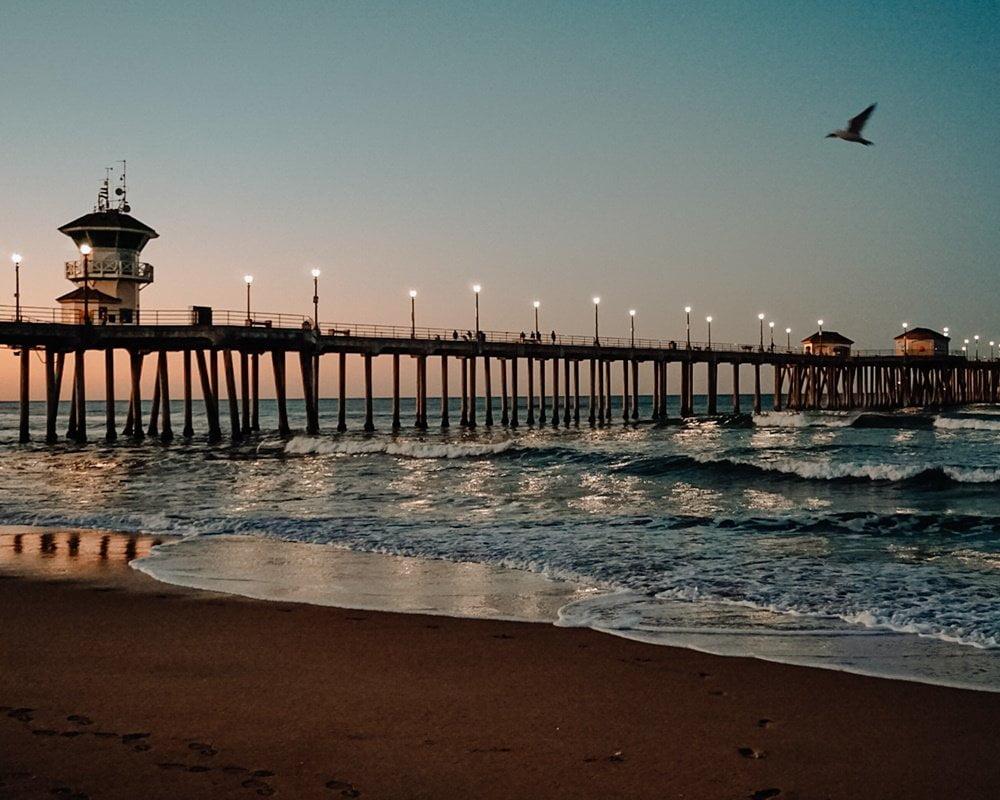 Huntington Beach, California, Romantic getaways in the US