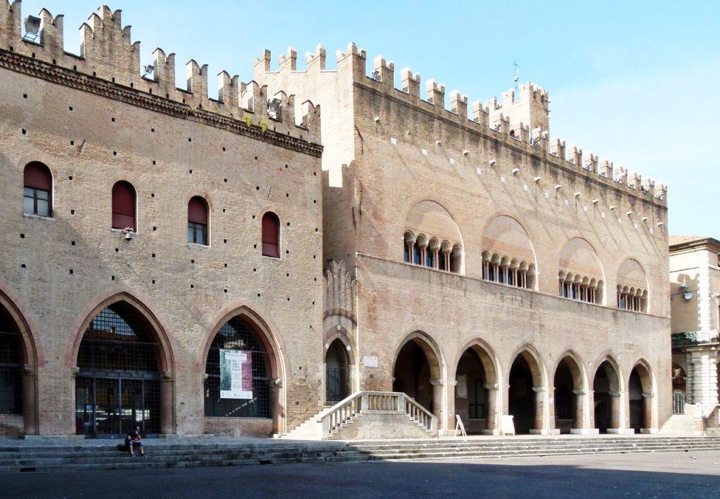 Piazza Cavour, Remini, Italy